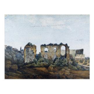 Carte Postale L'aqueduc de Claudean et le Colosseum, 1778 (la