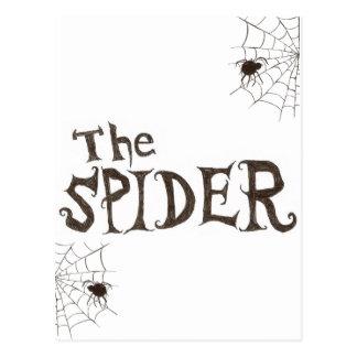 Carte Postale L'araignée