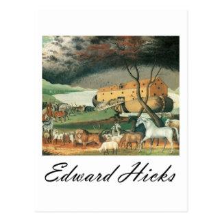 Carte Postale L'arche de Noé de ploucs d'Edouard