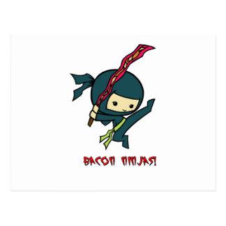 Carte Postale Lard Ninjas
