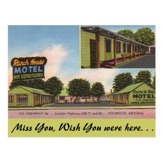 Carte Postale L'Arizona, ranch