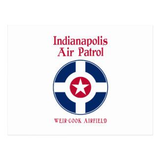Carte Postale L'Armée de l'Air d'Indianapolis