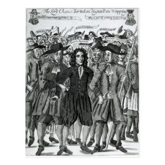 Carte Postale L'arrestation du juge Jeffreys 1689