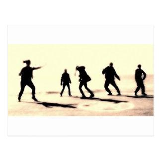 Carte Postale l'art du streetdance