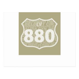 Carte Postale Las Virgenes - blanc de BT 880 diffus