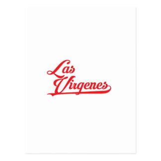 Carte Postale Las Virgenes empilé