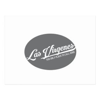 Carte Postale Las Virgenes - ovale