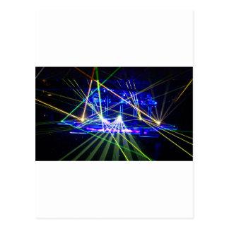 Carte Postale Lasers