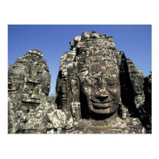 Carte Postale L'Asie, Cambodge, Siem Reap, Angkor Thom (B. tard