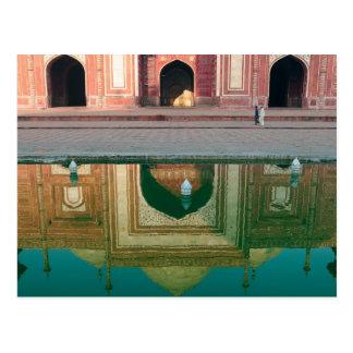 Carte Postale L'Asie, Inde, uttar pradesh, Âgrâ. Sur les 2