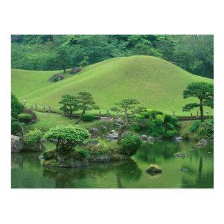Carte Postale L'Asie, Japon, Kumamoto, Suizenji Koen