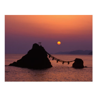 Carte Postale L'Asie, Japon, Mie, Futamigaura à l'aube