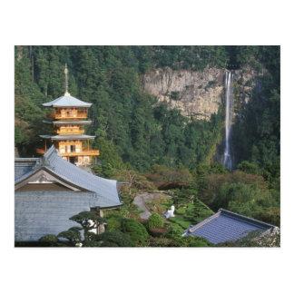 Carte Postale L'Asie, Japon, Wakayama, Katsuura, Kumano Nachi