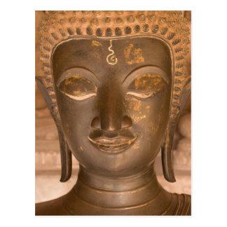 Carte Postale L'Asie, les Laotiens, Vientiane, sculpture en