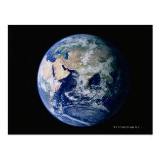 Carte Postale L'Asie vue de l'espace
