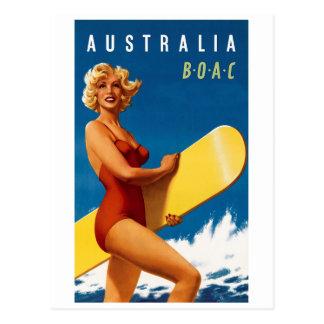 Carte Postale L'Australie - BOAC