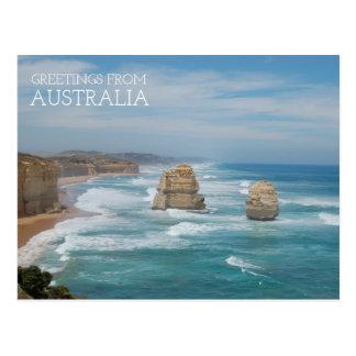 Carte Postale L'Australie douze apôtres