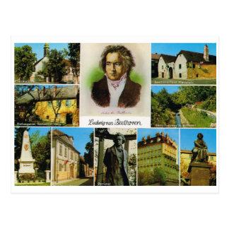 Carte Postale L'Autriche vintage, endroits a lié à Beethoven