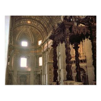 Carte Postale L'auvent de Bernini, la basilique de St Peter
