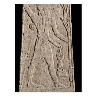 Carte Postale Le Baal d'un tempête-dieu avec un coup de foudre