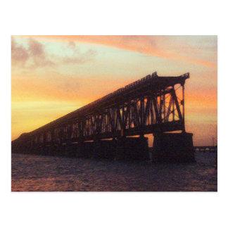 Carte Postale Le Bahia Honda clôturent le pont