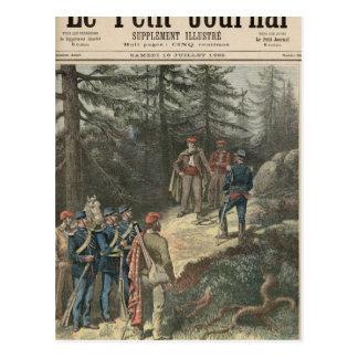 Carte Postale Le bandit corse Jacques Bellacoscia
