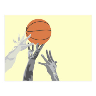 Carte Postale Le basket-ball préviennent le T-shirts et les
