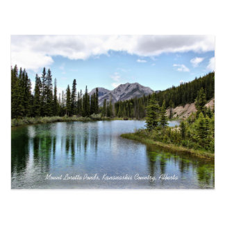 Carte Postale Le bâti Lorette accumule le pays Alberta de