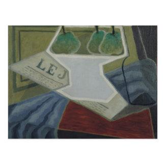 Carte Postale Le bol de fruit, 1925-27