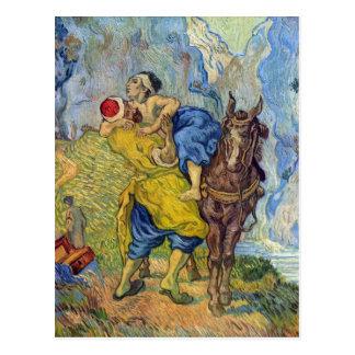 Carte Postale Le bon Samaritain par Vincent Willem Van Gogh