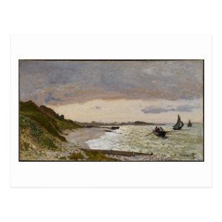 Carte Postale Le bord de la mer chez Sainte-Adresse, 1864