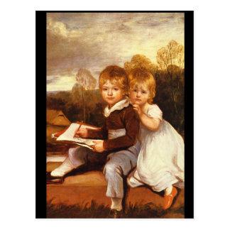 Carte Postale Le Bowden Children',_Portraits
