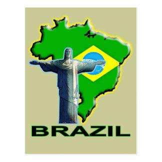 Carte Postale Le Brésil