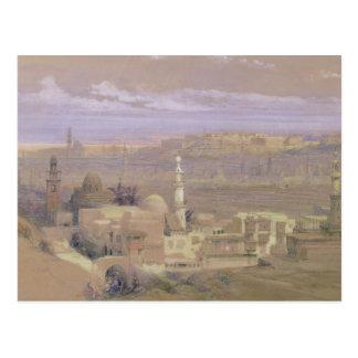 Carte Postale Le Caire de la porte de Citizenib, regardant vers
