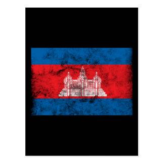 Carte Postale Le Cambodge vintage