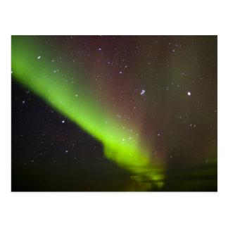 Carte Postale Le Canada, Manitoba, Churchill. L'aurore Borealis