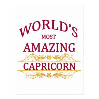 Carte Postale Le Capricorne le plus extraordinaire du monde