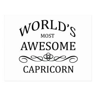 Carte Postale Le Capricorne le plus impressionnant du monde