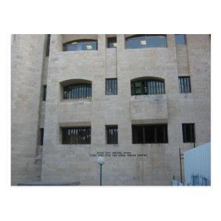 Carte Postale Le centre de Wohl Torah
