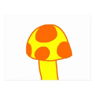 Carte Postale Le champignon repéré
