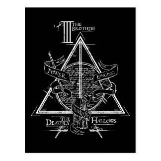Carte Postale Le charme   de Harry Potter DE MORT SANCTIFIE le