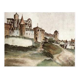 Carte Postale Le château chez Trento par Albrecht Durer
