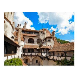 Carte Postale Le château de Dracula, son, à l'intérieur des murs