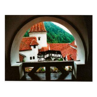 Carte Postale Le château de Dracula, son, cour