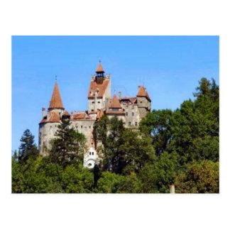 Carte Postale Le château de Dracula, son, la Transylvanie
