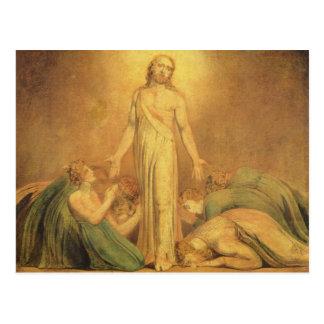 Carte Postale Le Christ apparaissant aux apôtres après le