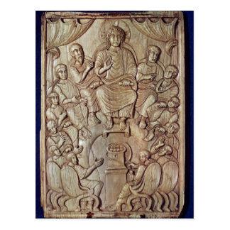 Carte Postale Le Christ avec les douze apôtres