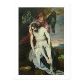 Carte Postale Le Christ mort soutenu par un ange, c.1646-52