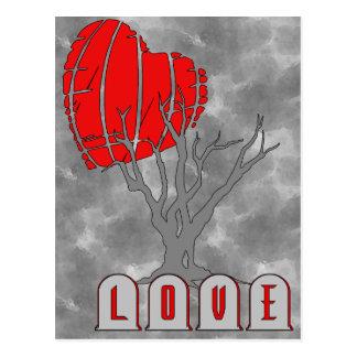 Carte Postale Le cimetière de l'amour