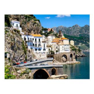 Carte Postale Le coadt d'Amalfi de l'Italie du sud